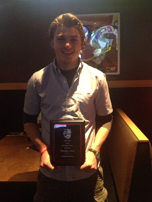 Doug Rose - Most Valuable Back 2012-2013