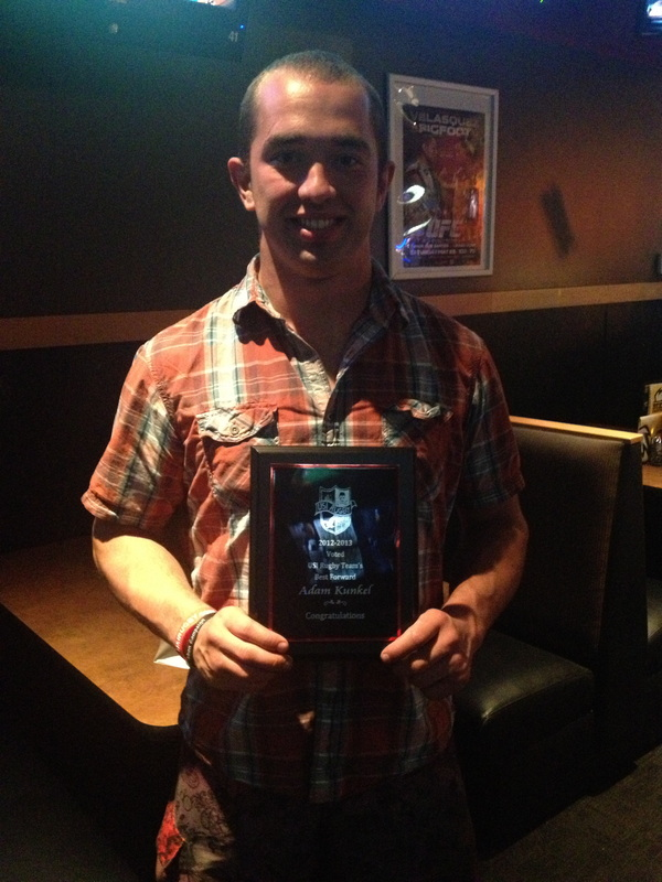 Adam Kunkel - Most Valuable Forward 2012-2013